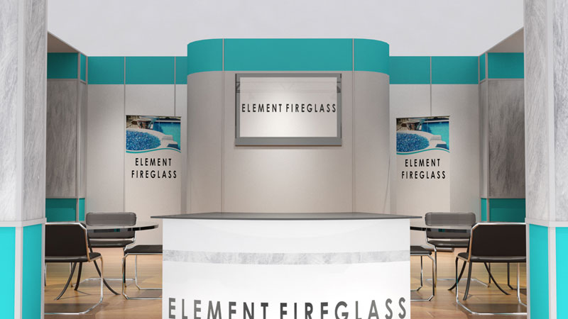 Element Fire Glass